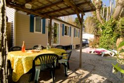 Mobile Home Caravan confort Lodge - Camping Port Grimaud Saint Tropez French Riviera
